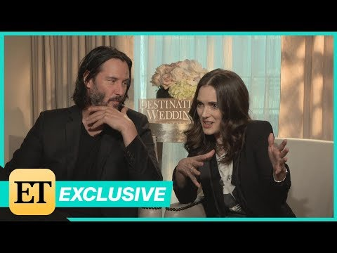 Winona Ryder and Keanu Reeves Reveal Their Healthy Crushes on Each Other Exclusive