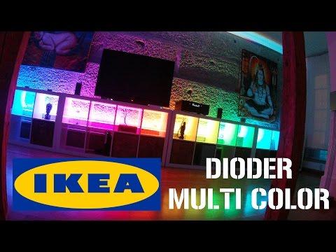 how to ikea dioder hack doovi. Black Bedroom Furniture Sets. Home Design Ideas