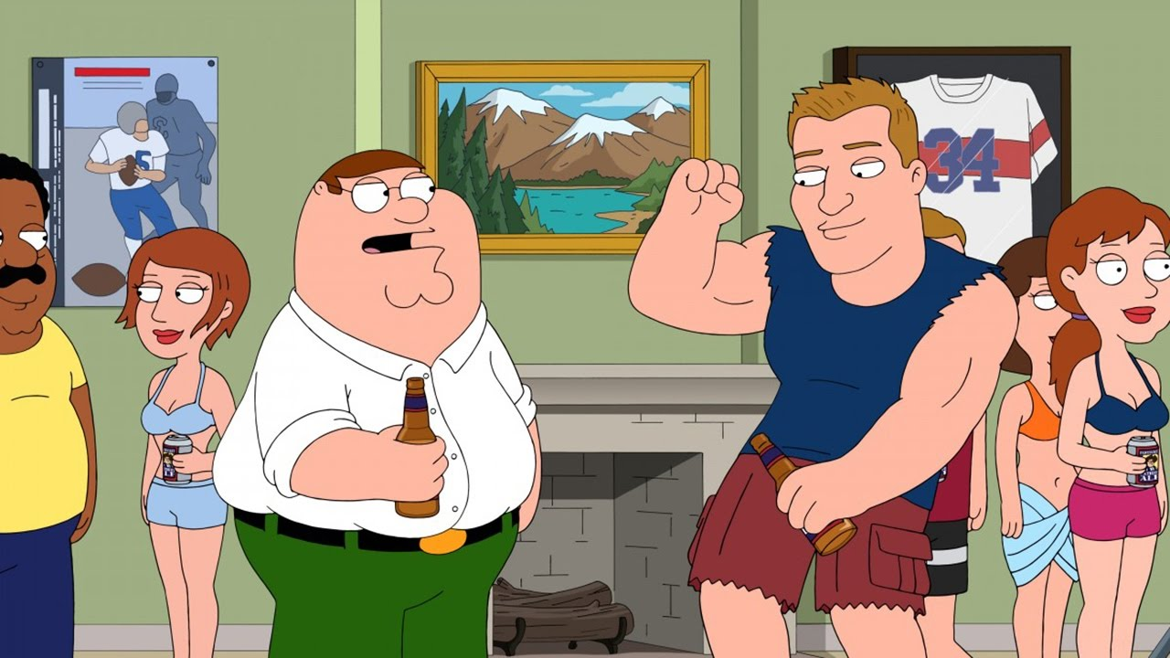 Rob Gronkowski Follows Steph Curry As Next Family Guy Star Shows Peter How To Party Like Gronk
