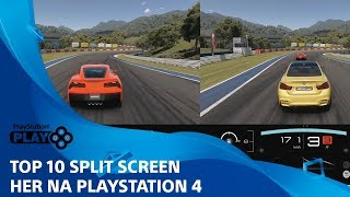 TOP 10 Split screen her na PS4 | PlayStation Play