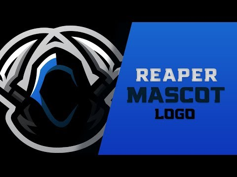 Adobe Illustrator Tutorial : How To Make A Mascot Logo (eSport / Sports Themed)
