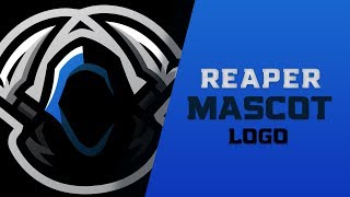 Adobe Illustrator Tutorial : How To Make A Mascot Logo (eSport / Sports Themed)