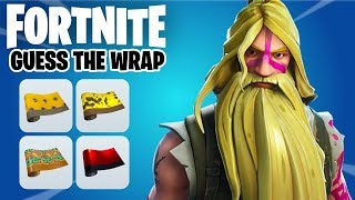 Guess The Wrap in Fortnite Challenge | Ultimate Fortnite Quiz