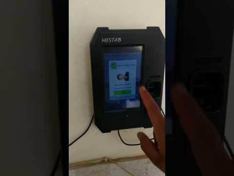 How to Mark Attendance in Aadhaar Enabled Biometric Attendance Machine