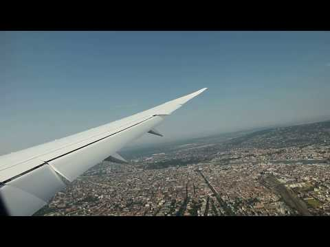 Landing + water salute - LOT 787 SP-LRG - Warsaw (WAW) - Budapest (BUD)