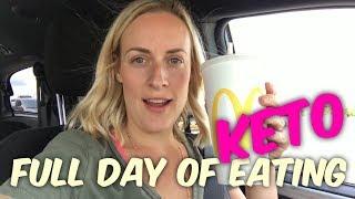 Full Day of Eating Keto - What I Eat on The Ketogenic Diet