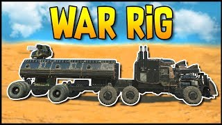 Crossout - The Rig! Post Apocalyptic Wasteland Big Rig - Crossout Gameplay