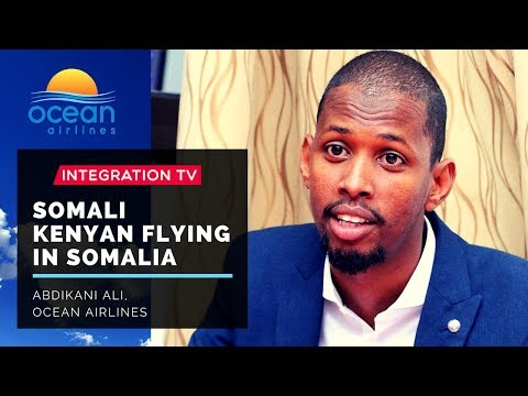 Somali Kenyan Flying in Somalia