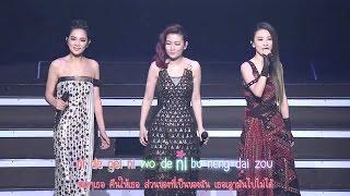 [Live] S.H.E - Bing Xiang (冰箱) 2GETHER 4EVER ENCORE concert [Karaoke Pinyin][Thaisub]