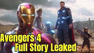 Avengers 4 Full Story Leaked and Explained in Hindi Avengers Infinity War