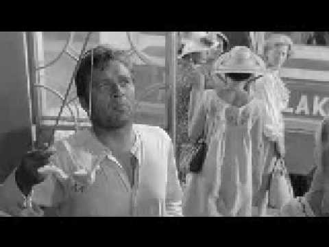 Richard Burton and Sue Lyon in Night of the Iguana
