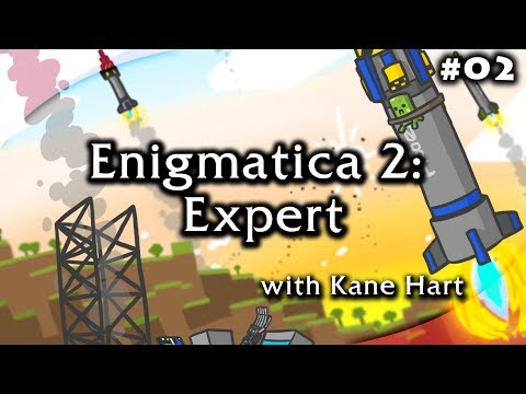 Enigmatica 2: Expert - Part 1 - Free Leather Armor & Bag! by