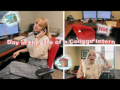 DAY IN MY LIFE AS A COLLEGE INTERN / **Real Estate Intern** Third Year University Student 2020