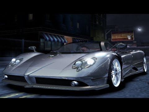 Need For Speed: Carbon - Pagani Zonda F - Test Drive Gameplay (HD) [1080p60FPS]