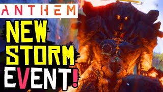 ANTHEM - NEW BOSS GIANT ANCIENT ASH TITAN / NEW World Event Strange Storm