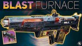Blast Furnace Review (Black Armory Pulse Rifle) | Destiny 2 Black Armory