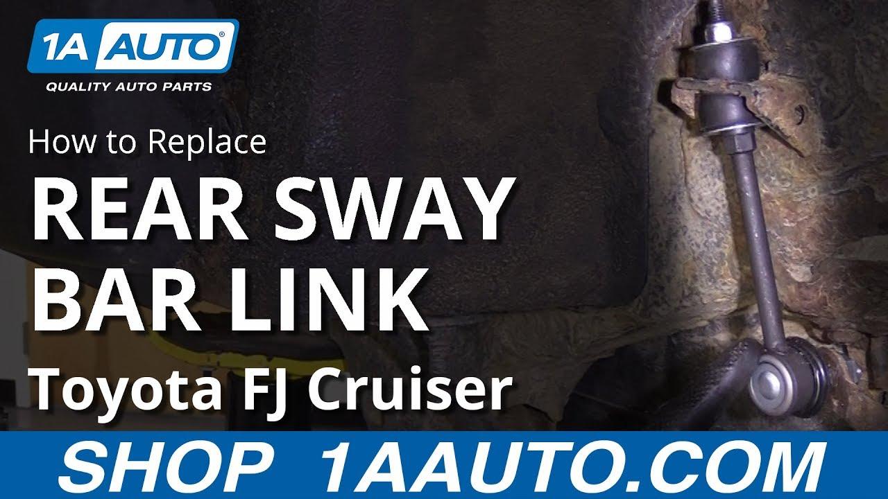 2 REAR SWAY BAR LINKS FOR TOYOTA FJ CRUISER 07-14