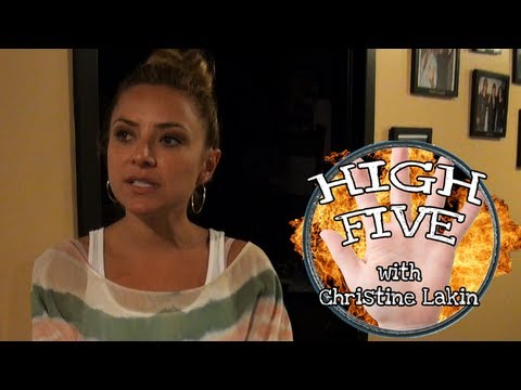 Loveline High Five: Christine Lakin