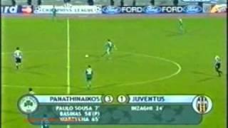 Panathinaikos Juventus 3 1 ΠΑΝΑΘΗΝΑΪΚΟ ΜΕΓΑΛΕΙΟ