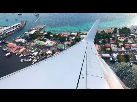 American Airlines – Boeing 737-823 – SXM-MIA – Takeoff And Landing – Inflight Series Ep. 88