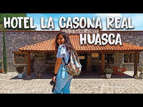 HOTEL romántico en HUASCA DE OCAMPO / La Casona Real Huasca / Todo Por Descubrir