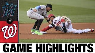 Marlins vs. Nationals Game Highlights (7/21/21)