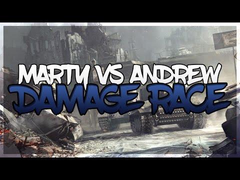 Damage race marty vs Andrew // záznam streamu