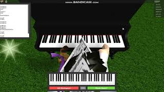 Roblox piano | Mario Bross tema