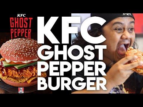 #ZHAFBITE - 1: KFC GHOST PEPPER BURGER
