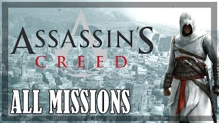 Assassin's Creed - All missions | Full game
