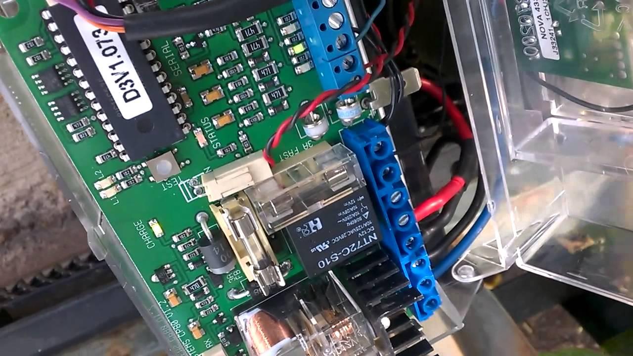 Centurion gate motor problem  YouTube