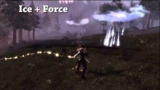 Fable 3: All Magic (Will) Spell Combinations - Archmage
