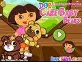 Dora The Explorer Taking Care Of Baby Bears Game