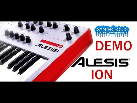 ALESIS ION SYNTH VIRTUAL ANALOG DEMOSTRATION by S4K