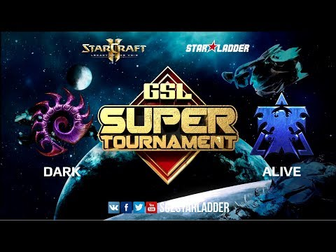 2018 GSL Super Tournament Season 1, Ro16: Dark (Z) vs aLive (T)