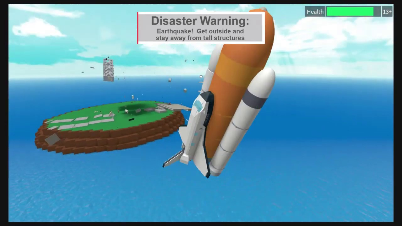Natural Disaster Survival Finally Got The Space Shuttle And