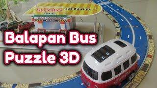 Bermain Puzzle 3D Orbit Bus    Develop Intelligence, cultivate Children's Creativity
