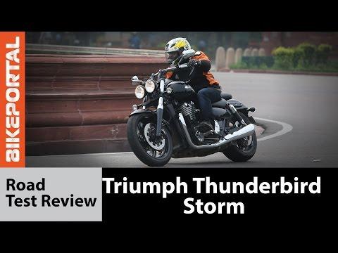 Triumph Thunderbird Storm Test Ride Review - Bikeportal