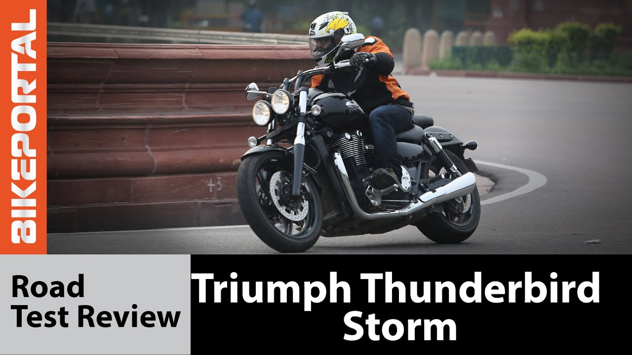 Triumph Thunderbird Storm Test Ride Review Bikeportal Youtube
