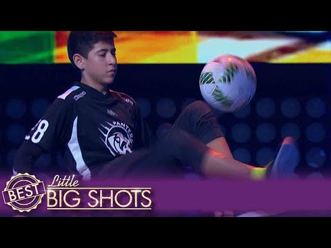 Adrián Is A Football Master| Best Little Big Shots
