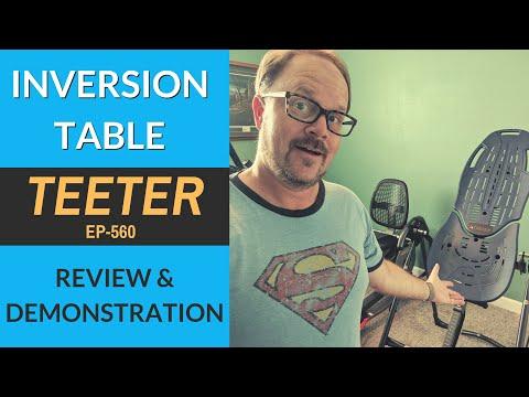 Choosing the Best Teeter Inversion Table. 6 Honest Reviews