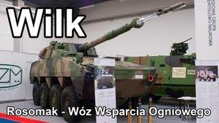 MSPO 2013 - Wilk, Rosomak Wóz Wsparcia Ogniowego #gdziewojsko