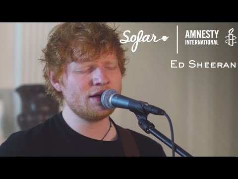 Ed Sheeran - Perfect | Sofar Washington, DC - GIVE A HOME 2017