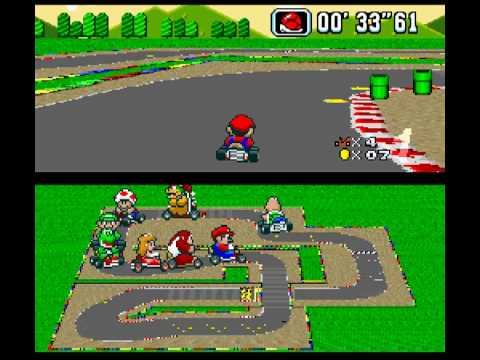 super mario kart mario circuit 2 youtube. Black Bedroom Furniture Sets. Home Design Ideas