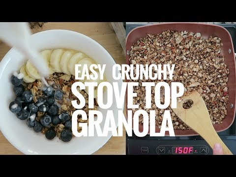How to make healthy granola without oven