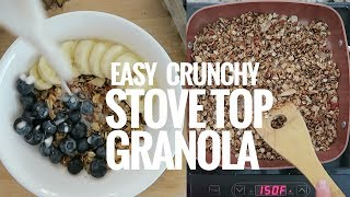 Video EASY, CRUNCHY, STOVE-TOP GRANOLA // COOKING WITH AMANDA download MP3, 3GP, MP4, WEBM, AVI, FLV Juli 2018