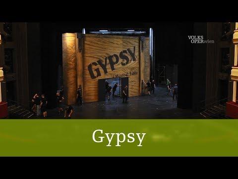 Gypsy –  Bühnenbildaufbau im Zeitraffer | Volksoper Wien
