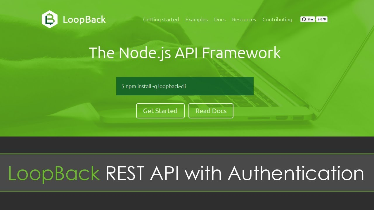 LoopBack REST API with Authentication