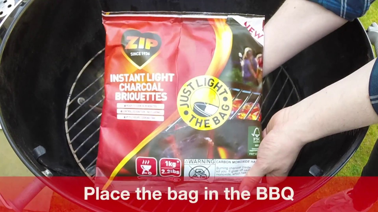 How To Use Instant Bbq Charcoal Briquettes