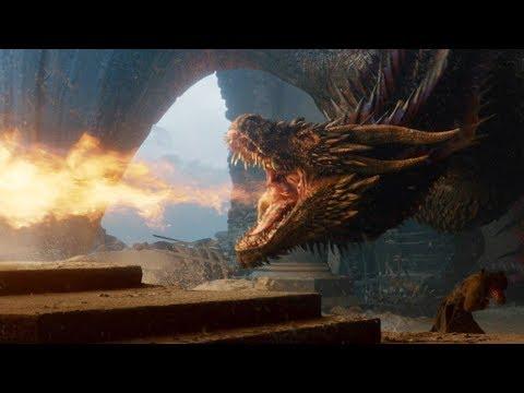 权力的游戏 超燃龙妈卓耿战斗集锦 龙焰焚烧一切 Game Of Thrones Daenerys Targaryen